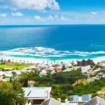 Die idyllische Lande-Südafrikas