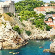 Die kroatische Stadt: Dubrovnik