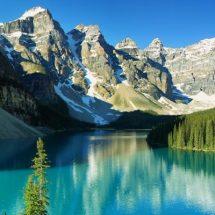 Es gibt unberührte Schönheit in Kanada